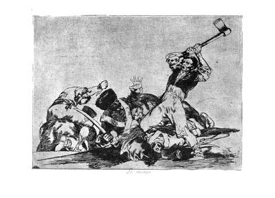 Les désastres de la guerre, 1810-1815 - Francisco de Goya