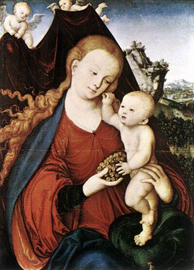 Madonna met kind, 1525