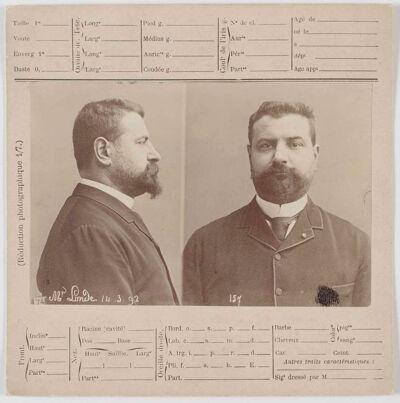 Albert Londe door Bertillon