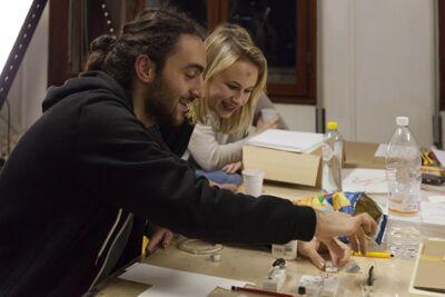 De printmaking workshop