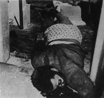 Het lichaam van Fred Hampton