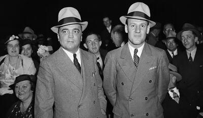 Hoover (links) en Clyde Tolson (rechts)