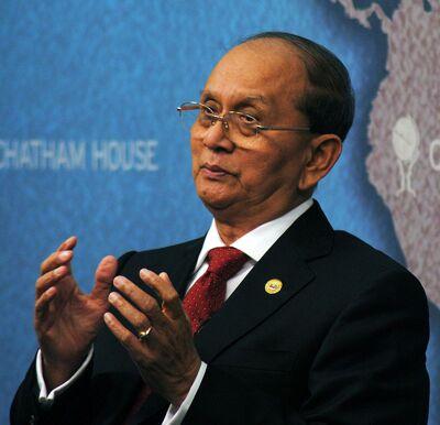 Thein Sein in 2013