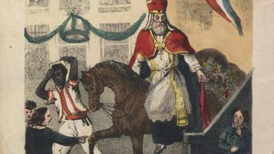 Jan Schenkman, Sint Nikolaas en zijn knecht