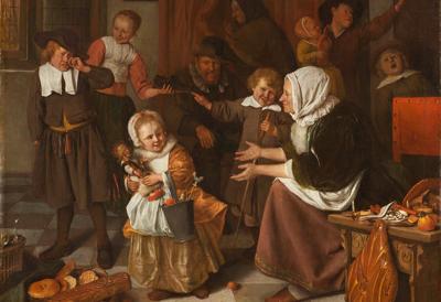 Jan Steen, Sint-Nicolaasfeest