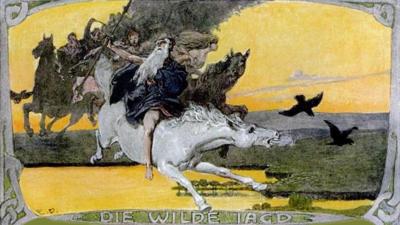 Emil Doepler, Wodan - Die Wilde Jagd