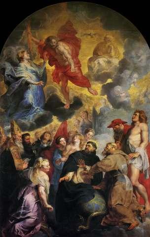 'Het groot visioen van de Heilige Dominicus', Musée des Beaux-Arts de Lyon