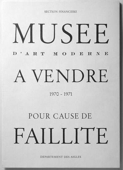 Pour cause de faillite (Musea Brugge - foto Hugo Martens)