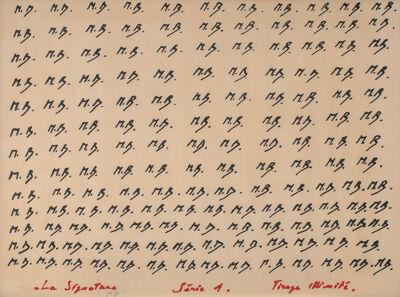 La signature (Musea Brugge - foto Hugo Martens)
