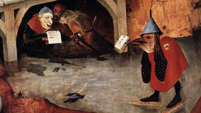 Detail 'De Verzoeking van Sint-Antonius'