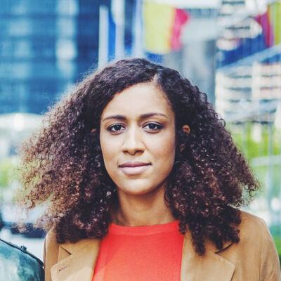 Reporter Karine Claassen