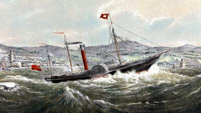 Pakketboot anno 1842