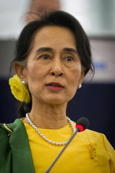 Er wacht de iconische oppositieleidster Aung San Suu Kyi een enorme uitdaging.