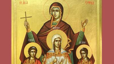 Icoon van de Heilige Sophia