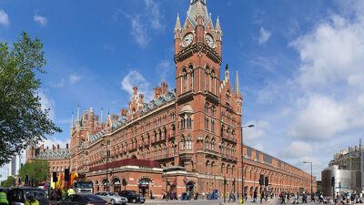 St.-Pancras Station, Londen