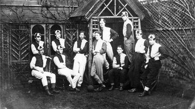 Engelse voetbalploeg anno 1863