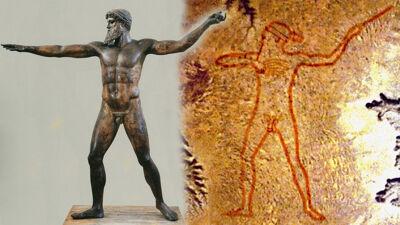 Poseidon van Artemision / Marree Man