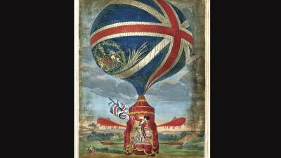 Ballon van Vincenzo Lunardi, 1785