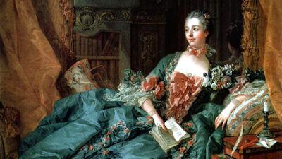 François Boucher: Madame de Pompadour (1756)
