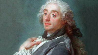 Portret van François Boucher (1741)