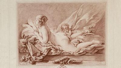 Gravure naar François Boucher (1761)