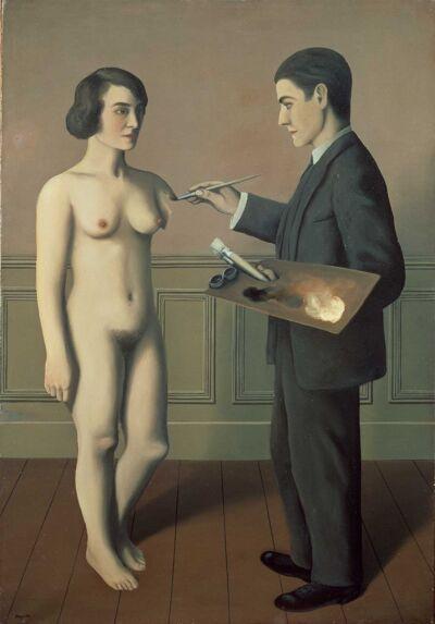 René Magritte, Tentative de l'impossible, 1928