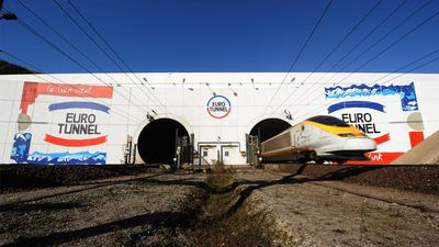 Eurotunnel (geopend in 1994)