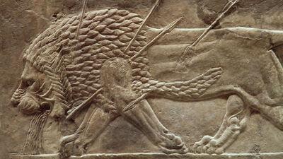Reliëf uit het paleis van Nineve