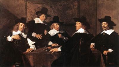 Frans Hals: De regenten van het Sint-Elisabethgasthuis