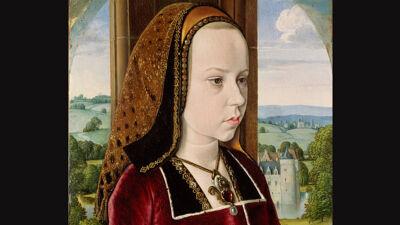 Meester van Moulins: Margaretha als jong meisje