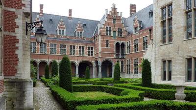 Paleis van Margaretha van Oostenrijk, binnentuin