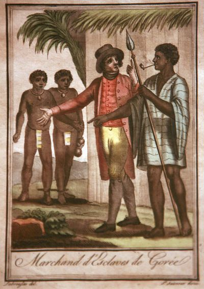 Jacques Grasset de Saint-Sauveur - Marchands d'esclaves de Gorée