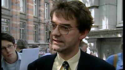 Fons Borginon is de laatste voorzitter van de VU (voorjaar 2001)