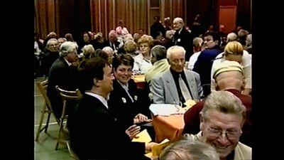 Johan Sauwens op de omstreden viering van het Sint-Maartensfonds (5 mei 2001)