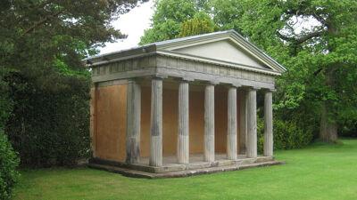 Dorische tempel van James Stuart, Shugborough Estate
