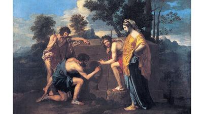 Nicolas Poussin: Et in Arcadia ego