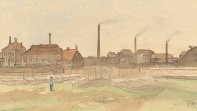 Vincent Van Gogh: Cokesfabriek in de Borinage (1879)