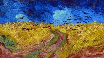 Vincent Van Gogh: Korenveld met kraaien (1890)
