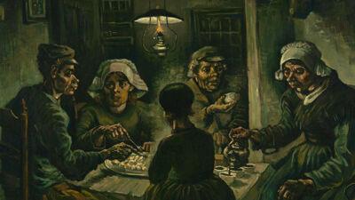 Vincent Van Gogh: De aardappeleters (1885)