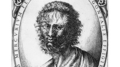 Stefano delle Bella: portret van Horacio Gonsalvus