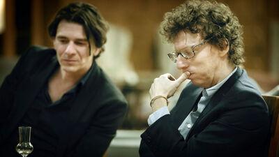 Dimitri en Arnon Grunberg