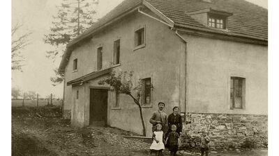 Een van de woningen van het Unterhof