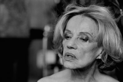Jeanne Moreau, Paris, 2003. Vanity Fair