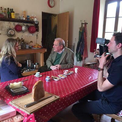 bij Theodore Dalrymple in de Ardèche, Frankrijk