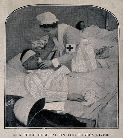 Verpleegster in de Boerenoorlog