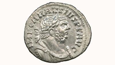 Zilveren munt van Carausius