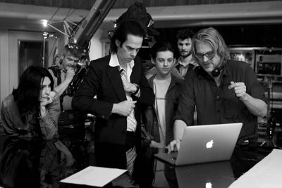 Nick Cave en regisseur Andrew Dominik