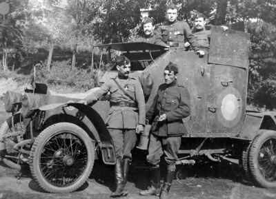 Het Belgische pantserkorps in Oekraïne