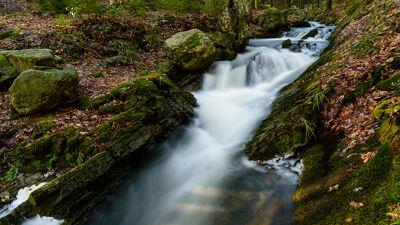 Watervalletje op de Chefna nabij Quarreux
