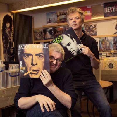 Jan Delvaux en Jimmy Dewit